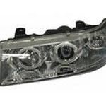 Блок фары 2110-12 ProSport 2 кольца Angel Eyes хром RS-01191