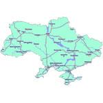 Карта Украины для навигаторов Garmin