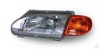 Блок-фара для автомобилей ВАЗ 2113 и модификаций c желтым указателем поворота правая