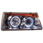 Блок фары 2108-099 ProSport 2 кольца стиль BMW5 хром LD2108-HL1-CHR/RS-01235